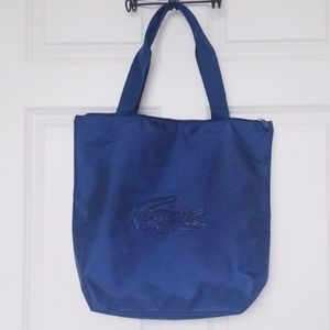 🐊 Lacoste Navy Blue Tote Bag